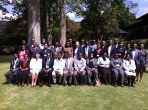 IHRM HR Master Class Participants, Nairobi, Kenya