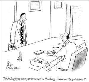 Innovation cartoon fail